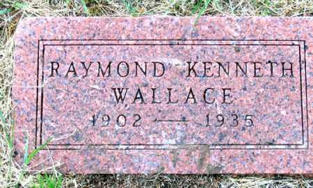 WALLACE, RAYMOND KENNETH - Dundy County, Nebraska | RAYMOND KENNETH WALLACE - Nebraska Gravestone Photos