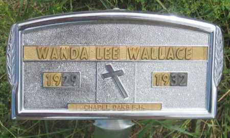 WALLACE, WANDA LEE - Dundy County, Nebraska | WANDA LEE WALLACE - Nebraska Gravestone Photos