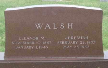 HUDSON WALSH, ELEANOR M. - Dundy County, Nebraska | ELEANOR M. HUDSON WALSH - Nebraska Gravestone Photos
