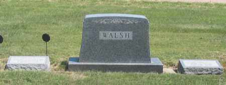 WALSH, JESSE FAMILY GRAVE SITE - Dundy County, Nebraska | JESSE FAMILY GRAVE SITE WALSH - Nebraska Gravestone Photos