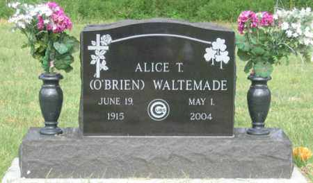 O'BRIEN WALTEMADE, ALICE T. - Dundy County, Nebraska | ALICE T. O'BRIEN WALTEMADE - Nebraska Gravestone Photos