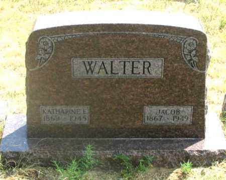 HAMBURG WALTER, KATHARINE ELIZABETH - Dundy County, Nebraska | KATHARINE ELIZABETH HAMBURG WALTER - Nebraska Gravestone Photos