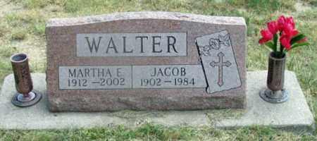 WALTER, MARTHA - Dundy County, Nebraska | MARTHA WALTER - Nebraska Gravestone Photos