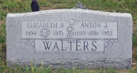 WALTERS, ANSON J. - Dundy County, Nebraska   ANSON J. WALTERS - Nebraska Gravestone Photos