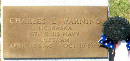 WARNING, CHARLES E. - Dundy County, Nebraska | CHARLES E. WARNING - Nebraska Gravestone Photos