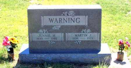 WARNING, MARTIN J. - Dundy County, Nebraska | MARTIN J. WARNING - Nebraska Gravestone Photos