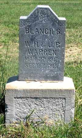 WARREN, BLANCH G. - Dundy County, Nebraska | BLANCH G. WARREN - Nebraska Gravestone Photos