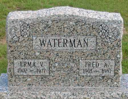 BROWN-WILSON WATERMAN, ERMA V. - Dundy County, Nebraska | ERMA V. BROWN-WILSON WATERMAN - Nebraska Gravestone Photos