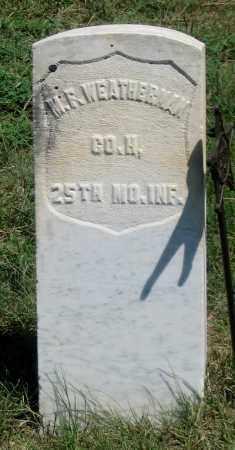 WEATHERMAN, MILES F. - Dundy County, Nebraska   MILES F. WEATHERMAN - Nebraska Gravestone Photos