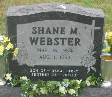 WEBSTER, SHANE M. - Dundy County, Nebraska | SHANE M. WEBSTER - Nebraska Gravestone Photos