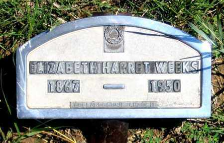 LESLIE WEEKS, ELIZABETH HARRIET - Dundy County, Nebraska | ELIZABETH HARRIET LESLIE WEEKS - Nebraska Gravestone Photos