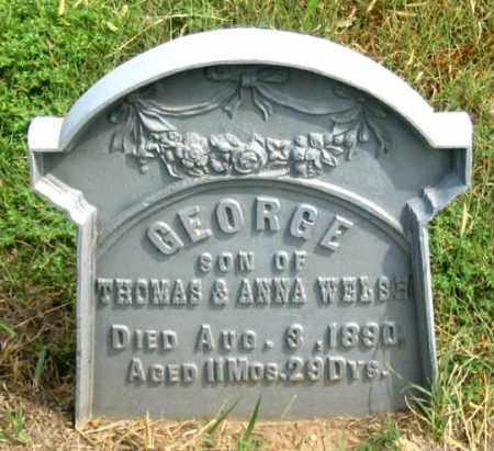 WELSH, GEORGE - Dundy County, Nebraska   GEORGE WELSH - Nebraska Gravestone Photos