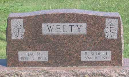 WELTY, ROSCOE J. - Dundy County, Nebraska   ROSCOE J. WELTY - Nebraska Gravestone Photos