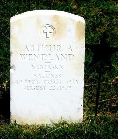 WENDLAND, ARTHUR A. - Dundy County, Nebraska | ARTHUR A. WENDLAND - Nebraska Gravestone Photos