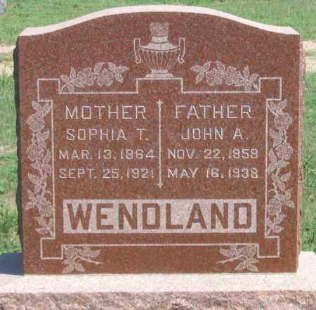 WENDLAND, JOHN A. - Dundy County, Nebraska | JOHN A. WENDLAND - Nebraska Gravestone Photos
