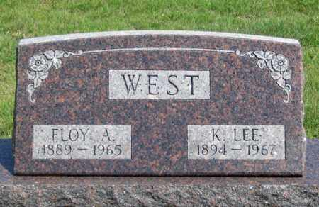 WEST, FLOY A. - Dundy County, Nebraska | FLOY A. WEST - Nebraska Gravestone Photos