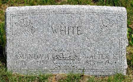 CHAPMAN WHITE, AMANDA ALBERTA - Dundy County, Nebraska | AMANDA ALBERTA CHAPMAN WHITE - Nebraska Gravestone Photos