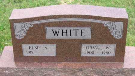 WHITE, ORVAL W. - Dundy County, Nebraska | ORVAL W. WHITE - Nebraska Gravestone Photos