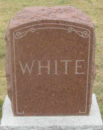 WHITE FAMILY, HEADSTONE - Dundy County, Nebraska | HEADSTONE WHITE FAMILY - Nebraska Gravestone Photos