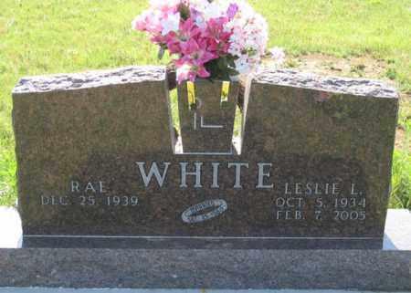 WHITE, LESLIE L. - Dundy County, Nebraska   LESLIE L. WHITE - Nebraska Gravestone Photos