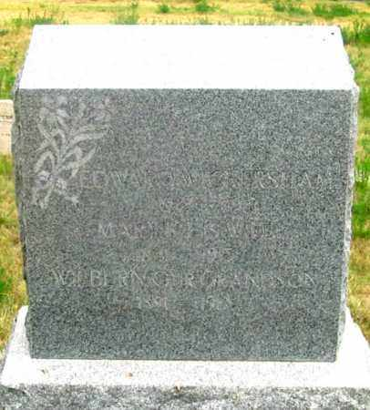 WICKERSHAM, EDWARD - Dundy County, Nebraska | EDWARD WICKERSHAM - Nebraska Gravestone Photos
