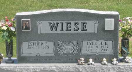 WIESE, LYLE H. E. - Dundy County, Nebraska | LYLE H. E. WIESE - Nebraska Gravestone Photos
