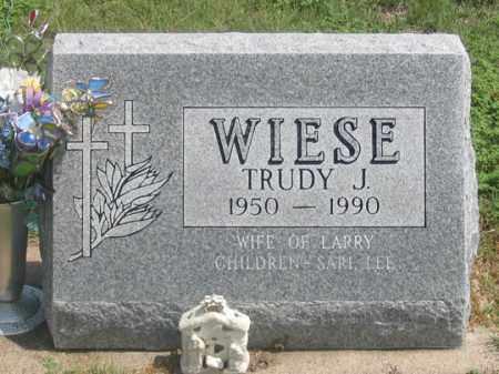 WIESE, TRUDY J. - Dundy County, Nebraska | TRUDY J. WIESE - Nebraska Gravestone Photos