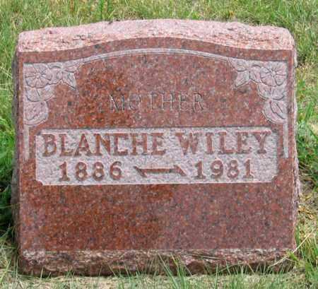 CHAPMAN WILEY, BLANCHE E. - Dundy County, Nebraska | BLANCHE E. CHAPMAN WILEY - Nebraska Gravestone Photos