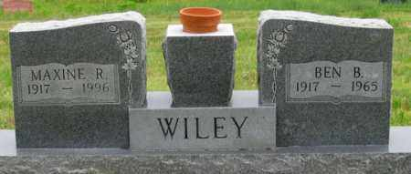 WILEY, BEN B. - Dundy County, Nebraska | BEN B. WILEY - Nebraska Gravestone Photos