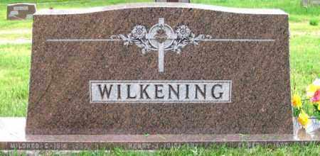 WALL WILKENING, MILDRED C. - Dundy County, Nebraska | MILDRED C. WALL WILKENING - Nebraska Gravestone Photos