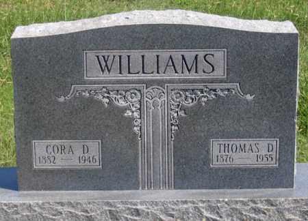 WILLIAMS, THOMAS D. - Dundy County, Nebraska | THOMAS D. WILLIAMS - Nebraska Gravestone Photos
