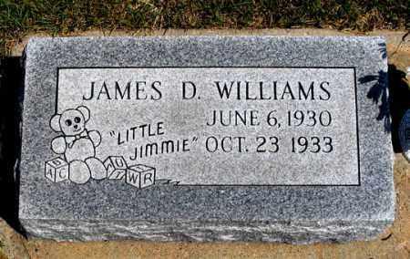 WILLIAMS, JAMES D. - Dundy County, Nebraska | JAMES D. WILLIAMS - Nebraska Gravestone Photos