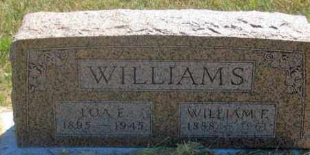 WILLIAMS, WILLIAM F. - Dundy County, Nebraska | WILLIAM F. WILLIAMS - Nebraska Gravestone Photos