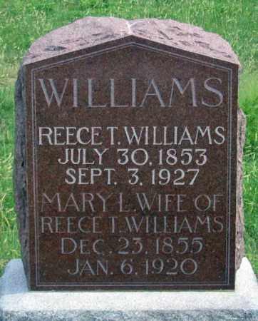 WILLIAMS, MARY L. - Dundy County, Nebraska | MARY L. WILLIAMS - Nebraska Gravestone Photos