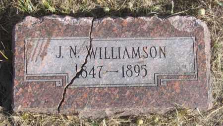 WILLIAMSON, JOHN N. - Dundy County, Nebraska | JOHN N. WILLIAMSON - Nebraska Gravestone Photos