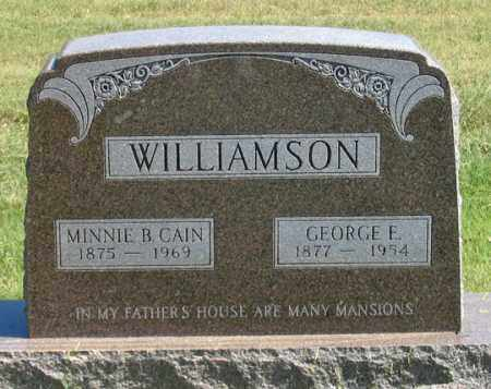 WILLIAMSON, GEORGE F. - Dundy County, Nebraska   GEORGE F. WILLIAMSON - Nebraska Gravestone Photos