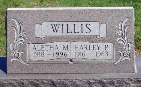 PETTIT WILLIS, ALETHA M. - Dundy County, Nebraska | ALETHA M. PETTIT WILLIS - Nebraska Gravestone Photos