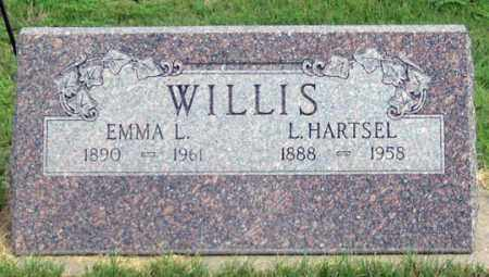 DRAPER WILLIS, EMMA L. - Dundy County, Nebraska   EMMA L. DRAPER WILLIS - Nebraska Gravestone Photos