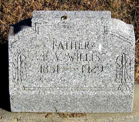 WILLIS, P. V. - Dundy County, Nebraska | P. V. WILLIS - Nebraska Gravestone Photos