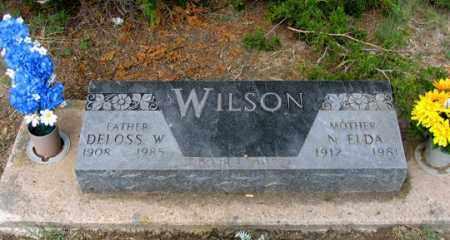 WILSON, DELOSS W. - Dundy County, Nebraska | DELOSS W. WILSON - Nebraska Gravestone Photos
