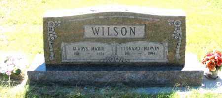 WILSON, GLADYS MARIE - Dundy County, Nebraska   GLADYS MARIE WILSON - Nebraska Gravestone Photos