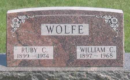 ULFERTS WOLFE, RUBY C. - Dundy County, Nebraska | RUBY C. ULFERTS WOLFE - Nebraska Gravestone Photos