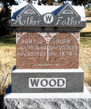 WOOD, ABBY J. - Dundy County, Nebraska   ABBY J. WOOD - Nebraska Gravestone Photos