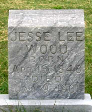WOOD, JESSE LEE - Dundy County, Nebraska | JESSE LEE WOOD - Nebraska Gravestone Photos