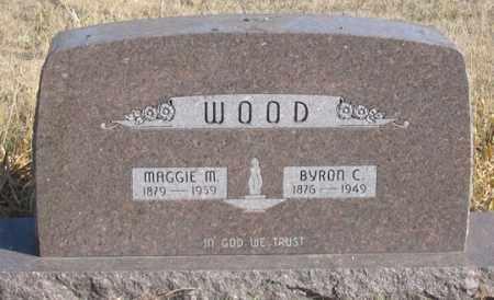 EDWARDS WOOD, MAGGIE - Dundy County, Nebraska | MAGGIE EDWARDS WOOD - Nebraska Gravestone Photos