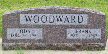 WOODWARD, ODA M. - Dundy County, Nebraska | ODA M. WOODWARD - Nebraska Gravestone Photos