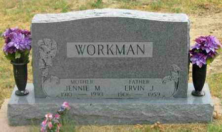 WORKMAN, ERVIN JOHN THOMAS - Dundy County, Nebraska | ERVIN JOHN THOMAS WORKMAN - Nebraska Gravestone Photos