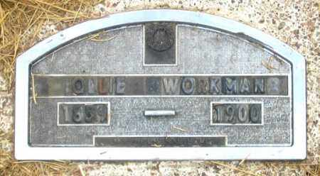 SUTCLIFFE WORKMAN, OLLIE (OLIVE?) - Dundy County, Nebraska | OLLIE (OLIVE?) SUTCLIFFE WORKMAN - Nebraska Gravestone Photos