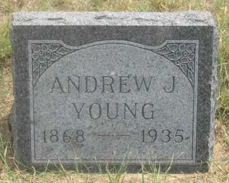 YOUNG, ANDREW J. - Dundy County, Nebraska | ANDREW J. YOUNG - Nebraska Gravestone Photos