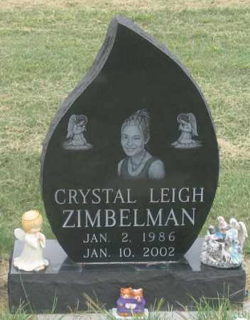 ZIMBELMAN, CRYSTAL LEIGH - Dundy County, Nebraska | CRYSTAL LEIGH ZIMBELMAN - Nebraska Gravestone Photos